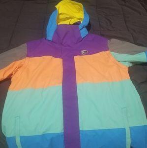 Sherbert Oneill Mens Snowboard Jacket/Hoodie Vest
